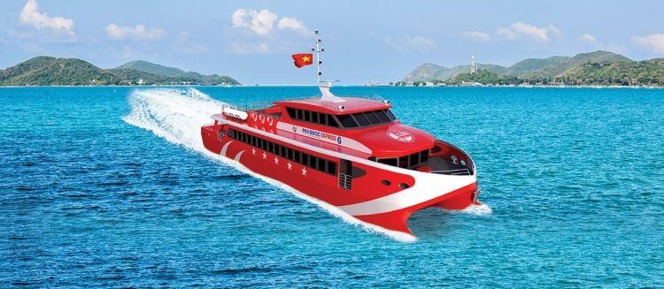 Vé tàu hà tiên - Phú Quốc - Tàu 5 Sao - VIP